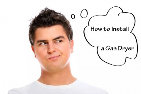 How to Install a Gas Dryer Picture