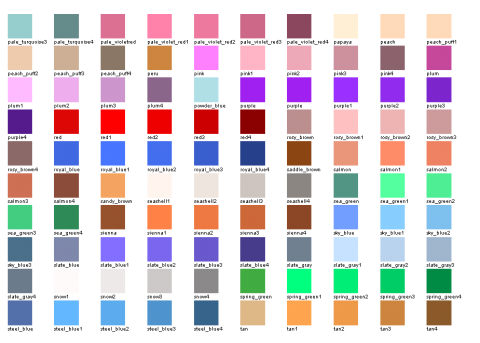 The Web 2.0 Colors Picture